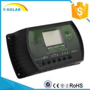 PWM Rd-30A 12V / 24V Solar Panel Cell PV Charge Controller pictures & photos