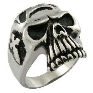 Gothic Stainless Steel Silver Men Favor Ring Jewelry pictures & photos