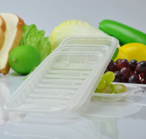 China Professional Manufacturer&Exporter Supermarket Displaying Fruit Packaging Fresh Tray pictures & photos
