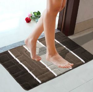 PP Doormats TPR Backing Fashion Design with 6 Colors and Design pictures & photos