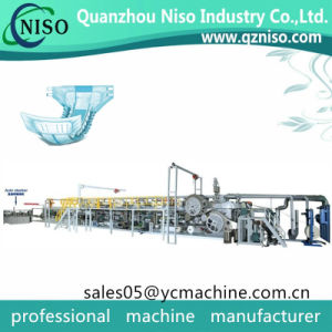 Disposable Incontinence Product Adult Pull up Diapers Manufaturing Machine pictures & photos