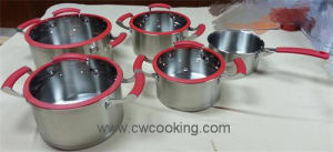 Kitchenware-9PCS Stainless Steel Cookware pictures & photos