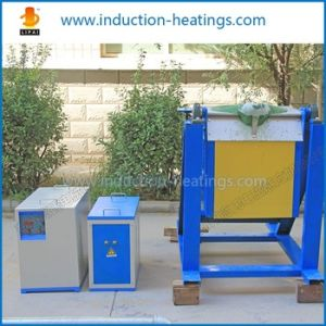 Factory Price Induction Melting Furnace for Gold Sliver Copper pictures & photos