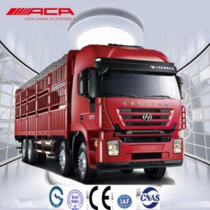 Saic-Iveco Hongyan 8X4 Heavy Duty 380HP Cargo Lorry/Van Truck pictures & photos