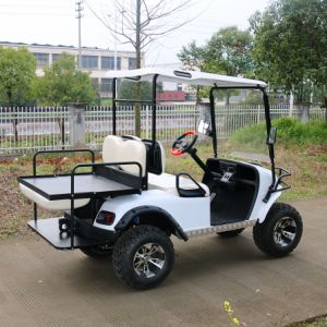 4 Passenger Electric Hunting Golf Cart for Village Holiday pictures & photos