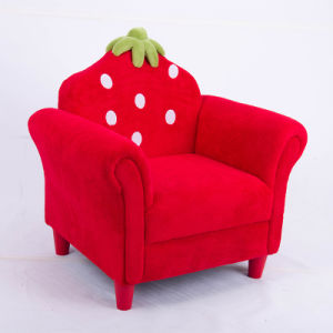 New Design Fabric Strawberry Kids Sofa/ Teenagers Furntiure pictures & photos