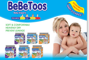 Premium Quality Super Soft Baby Diaper Soft Disposable Pampering Baby Diaper pictures & photos
