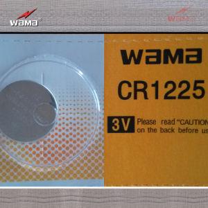 3.0V Lithium Button Cell Cr1225 pictures & photos