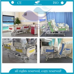 Linak 5-Functions Electric ICU Bed (AG-BY003C) pictures & photos