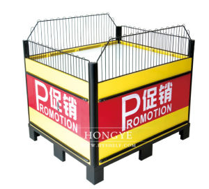 Supermarket Exhibition Stand Promotion Table (HY-PJT02) pictures & photos