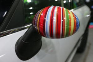 Brand New ABS Material UV Protected Side Mirror Cover Rainbow Style for Mini Cooper R50 R52 R53 pictures & photos