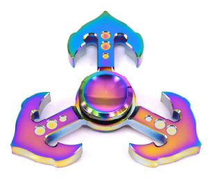 Ce RoHS Cpsc Factory Direct Sell Zinc Alloy Finger Spinner Hand Spinner Fast Bearing Toy Fidget Spinner pictures & photos