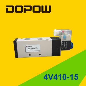 4V410-15 Solenoid Air Valve 5 Port pictures & photos