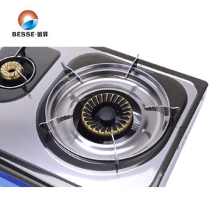 Colorful Steel Gas Stove, Triple Burner pictures & photos