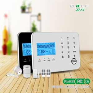 Touch Keypad Wireless Home PSTN GSM Alarm System (support APP) pictures & photos