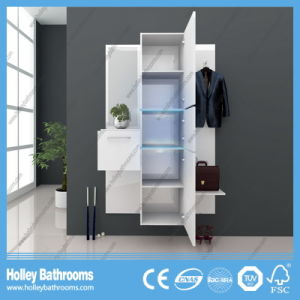 Modern More Kinetic Energy LED Hanging Clothes Rack Open Wardrobe-PF130c pictures & photos