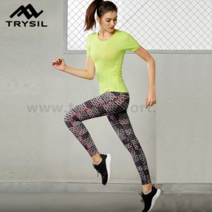 Fashion Sport Leggings Latest Fitness Pants Gym Clothing Running Clothes for Women pictures & photos