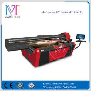 UV Plastic Printer LED UV Flatbed Printer 2.5meter Dx5 White pictures & photos