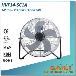 """14"""" High Velocity Industrial Floor Fan with Plastic Blade pictures & photos"""