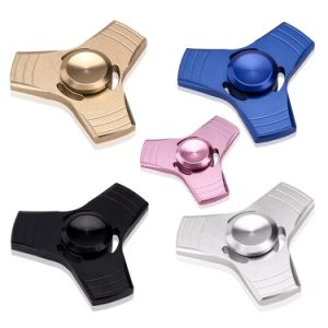 2017 Rainbow Easy Carry Anxiety Relief Reduce Stress Finger Fidget Spinner pictures & photos