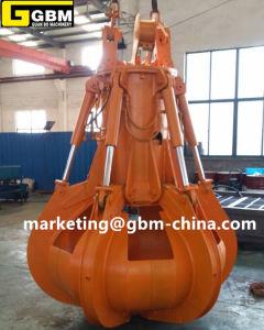 25t Electric Hydraulic Orange Peel Steel Scrap Grab pictures & photos