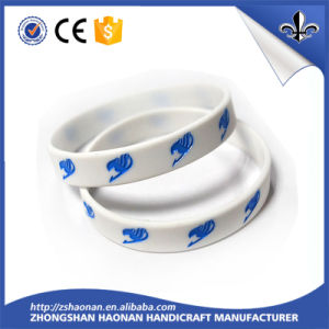 Custom Promotional Gift Silicone Bracelet for Event pictures & photos