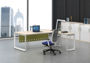 White Customized Metal Steel Office Executive Desk Frame with Ht63-2 pictures & photos