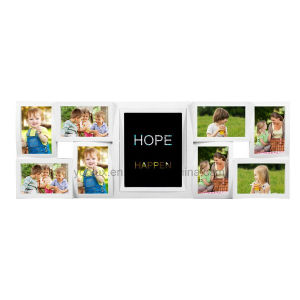 Plastic Multi Openning LED Light Box Photo Frame pictures & photos