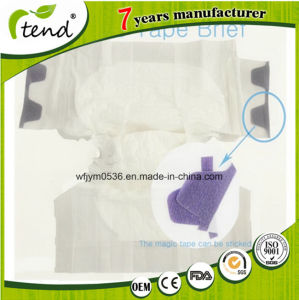 OEM XXL Japanese Diaper Clean Care Adult Diaper with Velcro Tapes pictures & photos