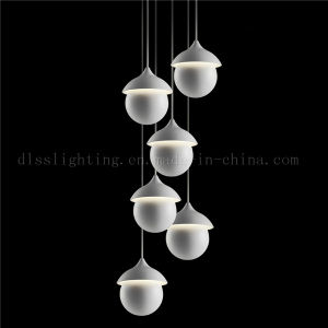 Italian Modern Style Iron LED Pendant Lighting for Indoor Decoration pictures & photos