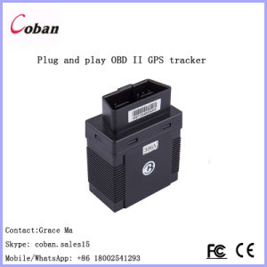 Vehicle Tracking System GPRS OBD II GPS Tracker Coban GPS306 with 5m OBD Extension Cord pictures & photos