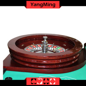 """Luxury Casino Gaming Standard Solid Wood 32"""" Roulette Wheel Dedicated for Roulette Poker Table Ym-RW01 pictures & photos"""