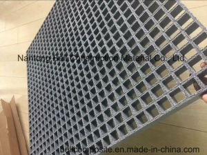 FRP/GRP Gritted Molded Grating, Fiberglass Grating, GRP Walkways, Platforms, Grating System. pictures & photos