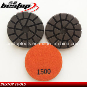 3 Inch Grit 1500# Floor Polishing Pad for Concrete pictures & photos