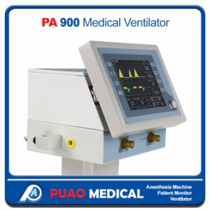 High Grade 10.4inch Display ICU Ventilator Machine (PA-900b) pictures & photos