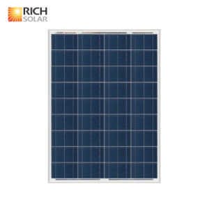 80W Polycrystalline 12V Solar Panel pictures & photos