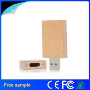 Cheap Price Eco-Friendly Rectangle Paper USB Flash Drive 4GB