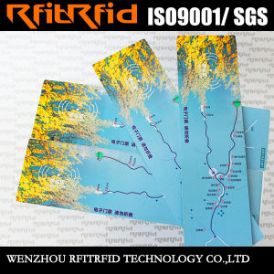 13.56MHz Color Printing Sticker RFID Paper Ticket for Admission Ticket pictures & photos