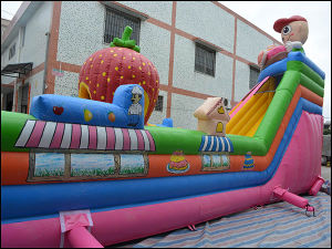 Giant Inflatable Toys Fun Fair Bouncy Castle for Amusement (T6-030) pictures & photos