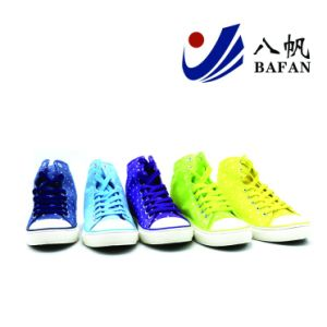 2017fashion Fabric Canvas Shoes Women Shoes Shoes Bf1701625 pictures & photos