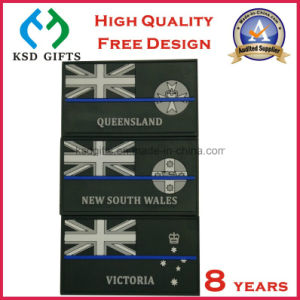 Wholesale Custom PVC Badge for Clothing, PVC Rubber Jeans Patches pictures & photos