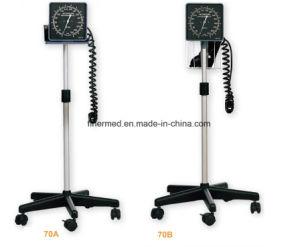 Floor Stand Type Mobile Aneroid Sphygmomanometer pictures & photos