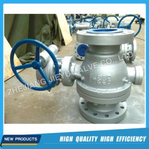 Full Port Trunnion Mounted Flanged Ball Valve pictures & photos