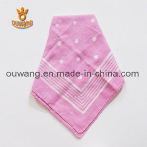 Wholesale Custom Scarf Paisley Printed Square Cotton Bandana for Promotional Gift pictures & photos
