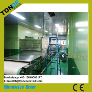Tunnel Microwave Vegetable Food Dates Herbs Steriliztion Dryer Machine pictures & photos
