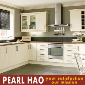 Customized PVC Melamine Wood Kitchen Cabinet pictures & photos