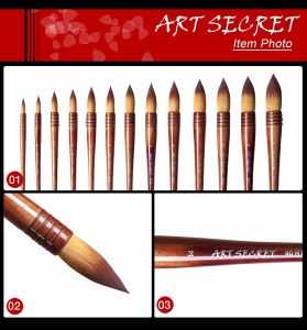 40rt Painting Brushes Art Artist Brushes pictures & photos