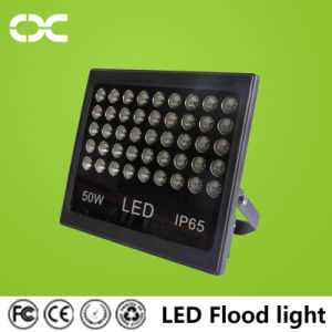 50W Black Panel with Cool Light LED Flood Lighting pictures & photos