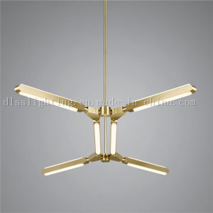 New Designs Modern Gold LED Pendant Lamp Glass Lighting pictures & photos
