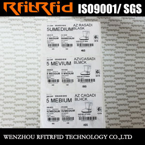UHF Programmable Custom Adhesive RFID Stickers for Garment pictures & photos